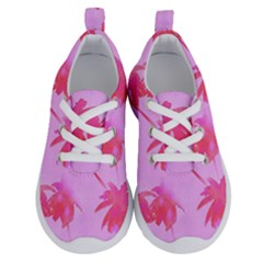 Palm Trees Pink Paradise Running Shoes by CrypticFragmentsColors