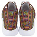 Traditional Africa Border Wallpaper Pattern Colored 2 Men s Lightweight High Top Sneakers View4