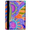 Pop Art Paisley Flowers Ornaments Multicolored 3 Apple iPad Pro 9.7   Flip Case View4