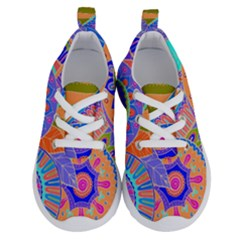 Pop Art Paisley Flowers Ornaments Multicolored 3 Running Shoes