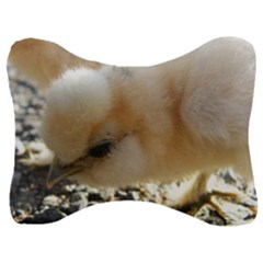 Silkie Chick  Velour Seat Head Rest Cushion
