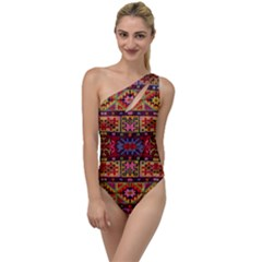 F 1 To One Side Swimsuit