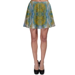 Cosmic Waters Warp Skater Skirt