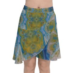 Cosmic Waters Warp Chiffon Wrap