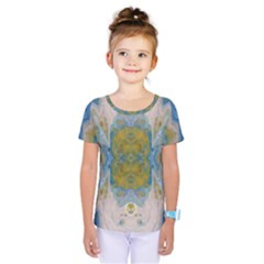 Cosmic Waters Warp Kids  One Piece Tee