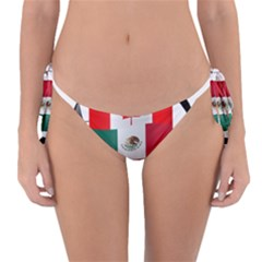 United Football Championship Hosting 2026 Soccer Ball Logo Canada Mexico Usa Reversible Bikini Bottom by yoursparklingshop