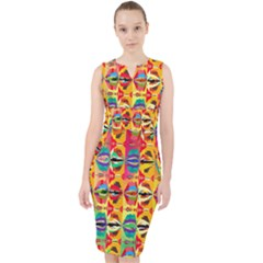Colorful Shapes                                            Midi Bodycon Dress