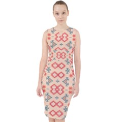 Tribal Shapes                                            Midi Bodycon Dress by LalyLauraFLM