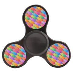 Colorful Textured Shapes Pattern                                Finger Spinner