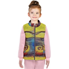 Painted Swirls                              Kid s Puffer Vest