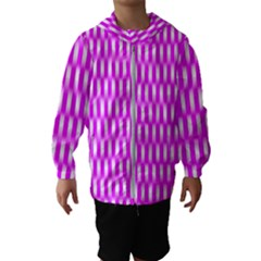 Series In Pink A Hooded Windbreaker (kids)