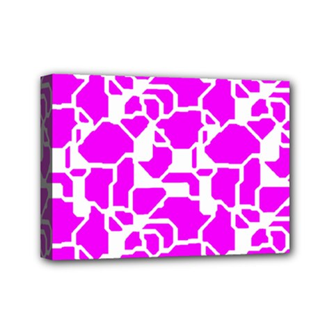 Series In Pink B Mini Canvas 7  X 5  by MoreColorsinLife