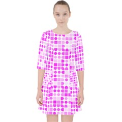 Series In Pink C Pocket Dress