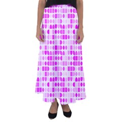 Series In Pink C Flared Maxi Skirt