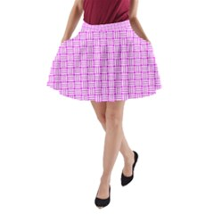 Series In Pink D A Line Pocket Skirt