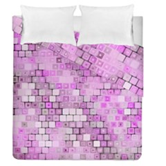 Series In Pink G Duvet Cover Double Side (queen Size)