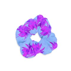 Palm Trees Caribbean Evening Velvet Scrunchie by CrypticFragmentsColors