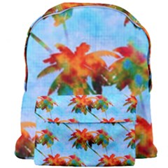 Palm Trees Sunset Glow Giant Full Print Backpack by CrypticFragmentsColors