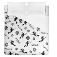 Witches And Pentacles Duvet Cover (queen Size) by IIPhotographyAndDesigns