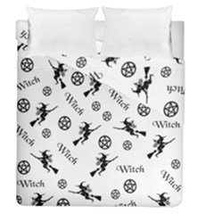 Witches And Pentacles Duvet Cover Double Side (queen Size) by IIPhotographyAndDesigns