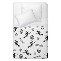 Witches And Pentacles Duvet Cover (single Size) by IIPhotographyAndDesigns