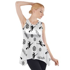 Witches And Pentacles Side Drop Tank Tunic by IIPhotographyAndDesigns