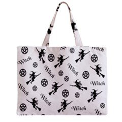 Witches And Pentacles Zipper Medium Tote Bag by IIPhotographyAndDesigns
