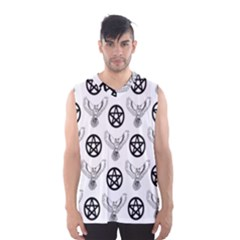 Owls And Pentacles Men s Basketball Tank Top by IIPhotographyAndDesigns