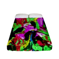 Spring Ornaments 2 Fitted Sheet (full/ Double Size) by bestdesignintheworld