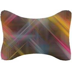 Fractals Stripes                                   Seat Head Rest Cushion by LalyLauraFLM