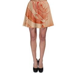 Wonderful Rose In Soft Colors Skater Skirt by FantasyWorld7