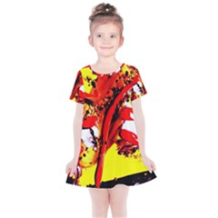 Cry About My Hair Cut Kids  Simple Cotton Dress