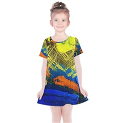 I Wonder 3 Kids  Simple Cotton Dress by bestdesignintheworld