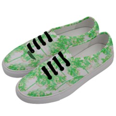 Palm Trees Tropical Beach Pattern  Men s Classic Low Top Sneakers by CrypticFragmentsColors