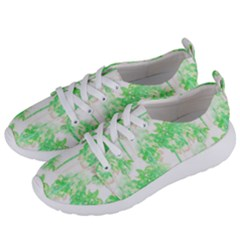 Palm Trees Tropical Beach Pattern  Women s Lightweight Sports Shoes by CrypticFragmentsColors