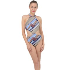 Balboa 4 Halter Side Cut Swimsuit