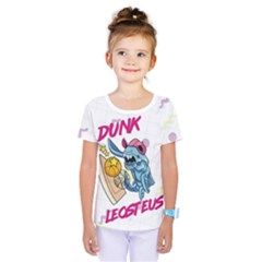 Friend Dress Front Back Kids  One Piece Tee