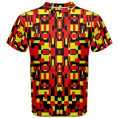 Red Black Yellow 1 Men s Cotton Tee