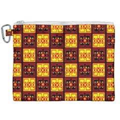 Red Black Yellow 3 Canvas Cosmetic Bag (xxl) by ArtworkByPatrick1
