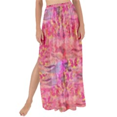 Pink Purple Beautiful Golden Butterfly Created By Flipstylez Designs Maxi Chiffon Tie Up Sarong