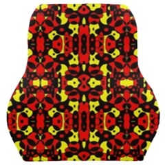 Red Black Yellow 5 Car Seat Back Cushion