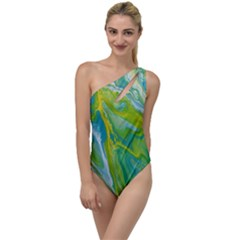 Sunlit River To One Side Swimsuit