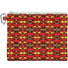 Red Black Yellow 6 Canvas Cosmetic Bag (xxxl) by ArtworkByPatrick1