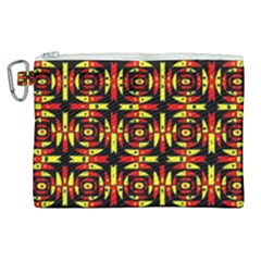 Red Black Yellow 9 Canvas Cosmetic Bag (xl) by ArtworkByPatrick1