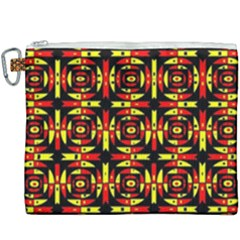 Red Black Yellow 9 Canvas Cosmetic Bag (xxxl) by ArtworkByPatrick1