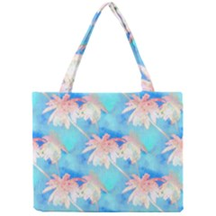 Palm Trees Summer Afternoon Mini Tote Bag by CrypticFragmentsColors