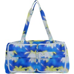 Palm Trees Bright Blue Green Multi Function Bag	 by CrypticFragmentsColors