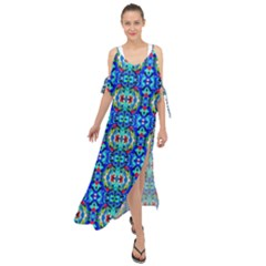 G 3 Maxi Chiffon Cover Up Dress by ArtworkByPatrick1