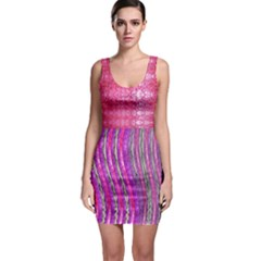 Pink And Purple Shimmer Design By Flipstylez Designs Bodycon Dress