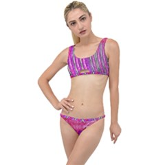 Pink And Purple Shimmer Design By Flipstylez Designs The Little Details Bikini Set